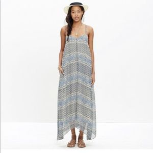 Madewell Moroccan Tile  Maxi Dress